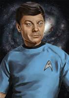 Leonard McCoy by Sefikichi