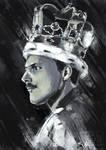 Speedpaint: Freddie Mercury by Sefikichi