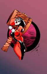 Harley Quinn by Echudin