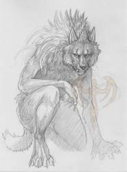 fading wolf by akeyla