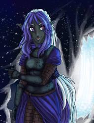 Ariel Val'Sarghress by AryaMaya