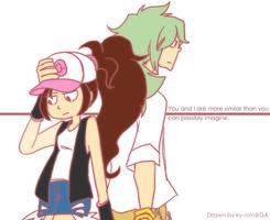 Pokemon: Similarity by ky-nim