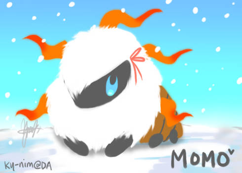 Pokemon: MOMO THE LARVESTA by ky-nim
