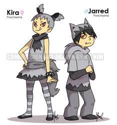 Commission: Kira + Jarred by ky-nim