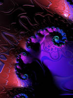3D Ink Fractal by laughingtube