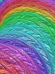 Rainbow Fractal by laughingtube