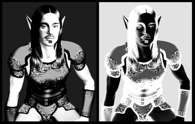 Elven Duality by MyriamSedai