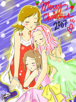 Merry Xmas 07 ft. Digimon 2 by justinee
