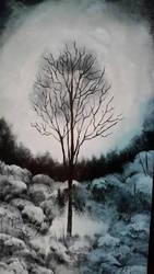 Winter Existence  by ShaneScareArt