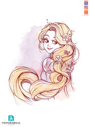 Dancing Rapunzel by Memorabilia-Studios
