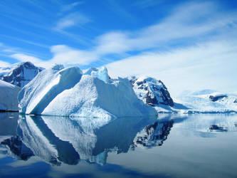 Antarctic Landscape 3 by Serendith