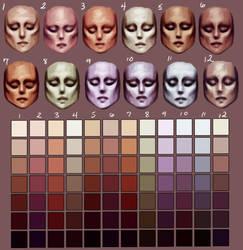 Skin tones pt. 2 by Enamorte
