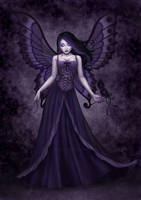 Purple fairy by Enamorte