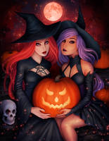 Two Witches by Enamorte