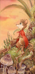 Mrs.Brisby Card commission by Neko-Art