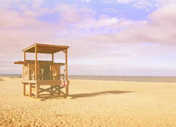 Tybee Island Beach by druideye