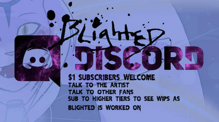 Discord Blighted Server by AlpharieArtist