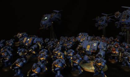 The Ultramarines by DeathShadowSun