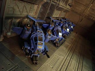 Stormtalon Gunship squad by DeathShadowSun