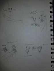 Random Doodles #0001 by Xenrek