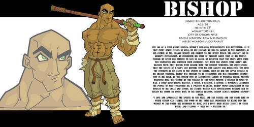 Bishop Bio 1 by HyroGlyphIQ