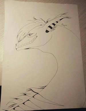 Dragon for Santana Hoffman by GoloD999