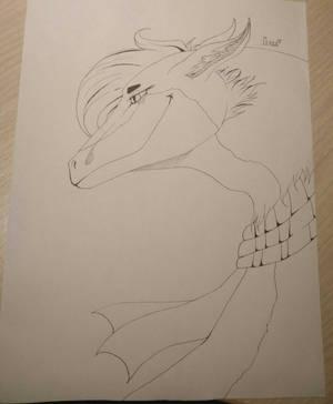 Dragon for Tatiana Shustova by GoloD999