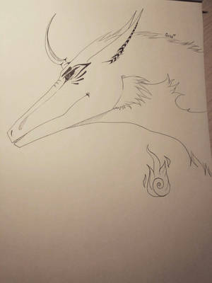 Dragon for Morphaus Paollo by GoloD999