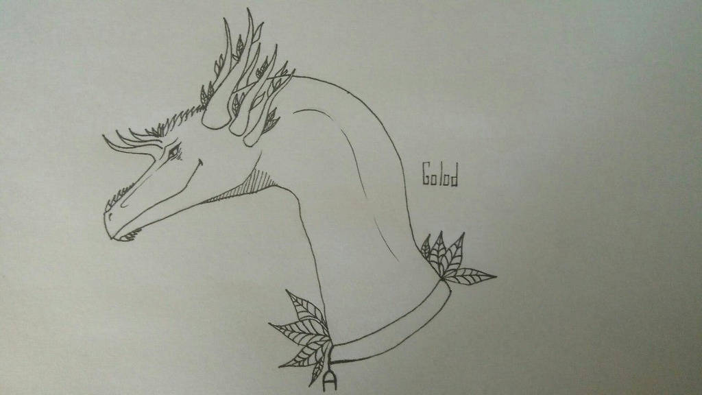 Traditional dragon [4] by GoloD999