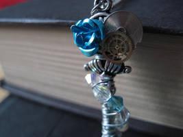 Blue Regency Steamkey by PhantomNayru