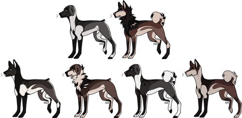 dog family adopts (1/6) - OPEN - REDUCED by hostileadopts