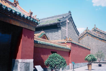 Shenyang Forbidden City by howhowforever
