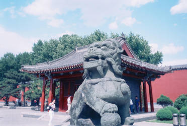 Shenyang Forbidden City 3 by howhowforever