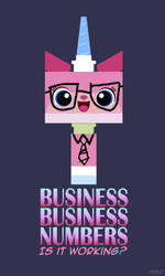 Unikitty Biznis by Nefthys