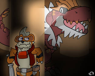 raid - Gren in boss fight by Garry-O-Jelly