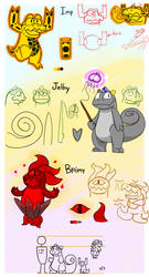 mergy - Jellry Imp and Brimy by Garry-O-Jelly