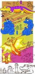 Mergy - Astry slimeking Star by Garry-O-Jelly