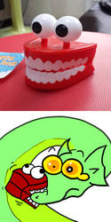quick Garry - fake tooth by Garry-O-Jelly