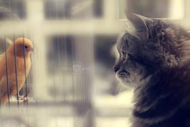 Kiki n her lil friend by Rare-Pearl