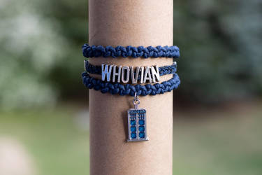 Whovian bracelet (Doctor Who) by mygeekymuse