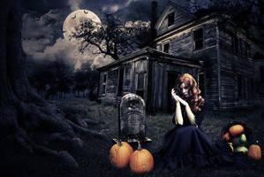 Halloween Photoshop Tutorial by Andrei-Oprinca