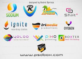 My Fresh PSD Logos - FREE by Andrei-Oprinca