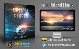 Free Optical Flares Stock by Andrei-Oprinca