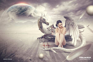 The Fallen Angel - Free manipulation Tutorial by Andrei-Oprinca