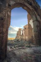 Belchite Church Door by Andrei-Oprinca