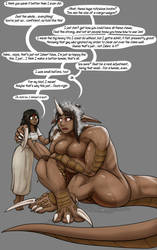 Patreon Freebie: Altered Fates: HumIsh and KasSher by Valsalia