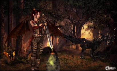 Demons et dragons by cflonflon