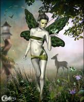 Elfe nature by cflonflon