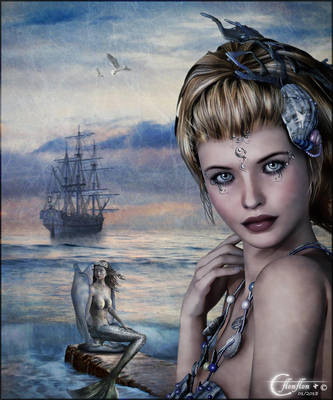 Navire et Sirenes by cflonflon