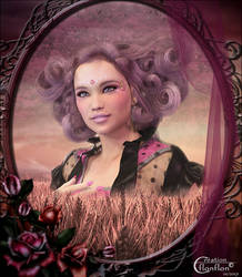 Portrait en Campagne by cflonflon